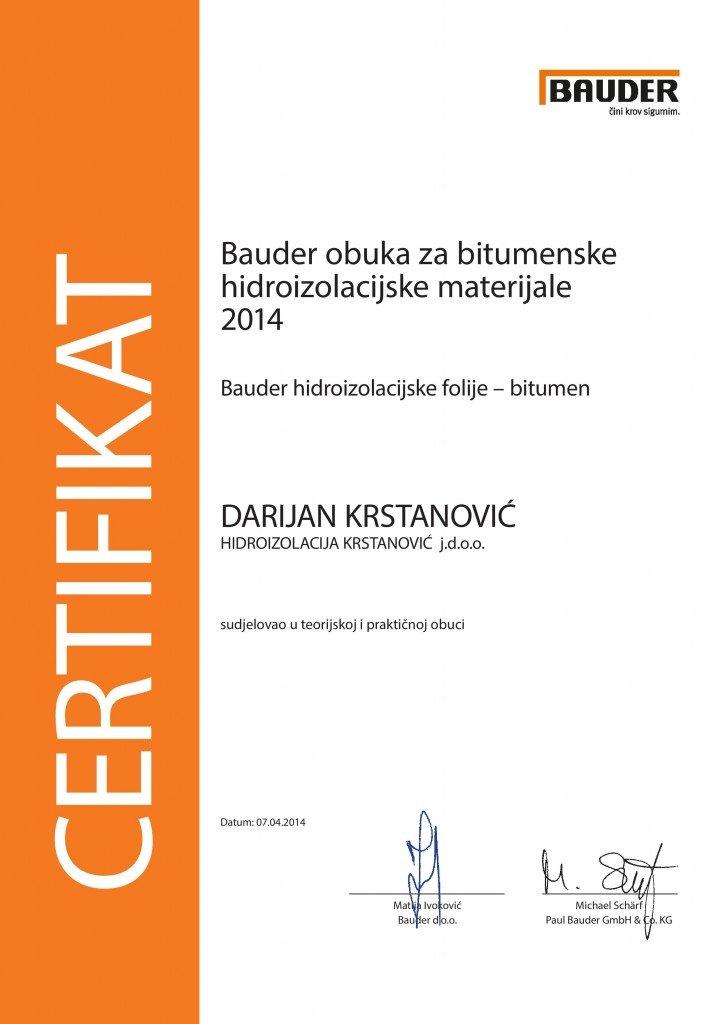 HR_Zertifikat 2014-S-HIDROIZOLACIJA KRSTANOVIC